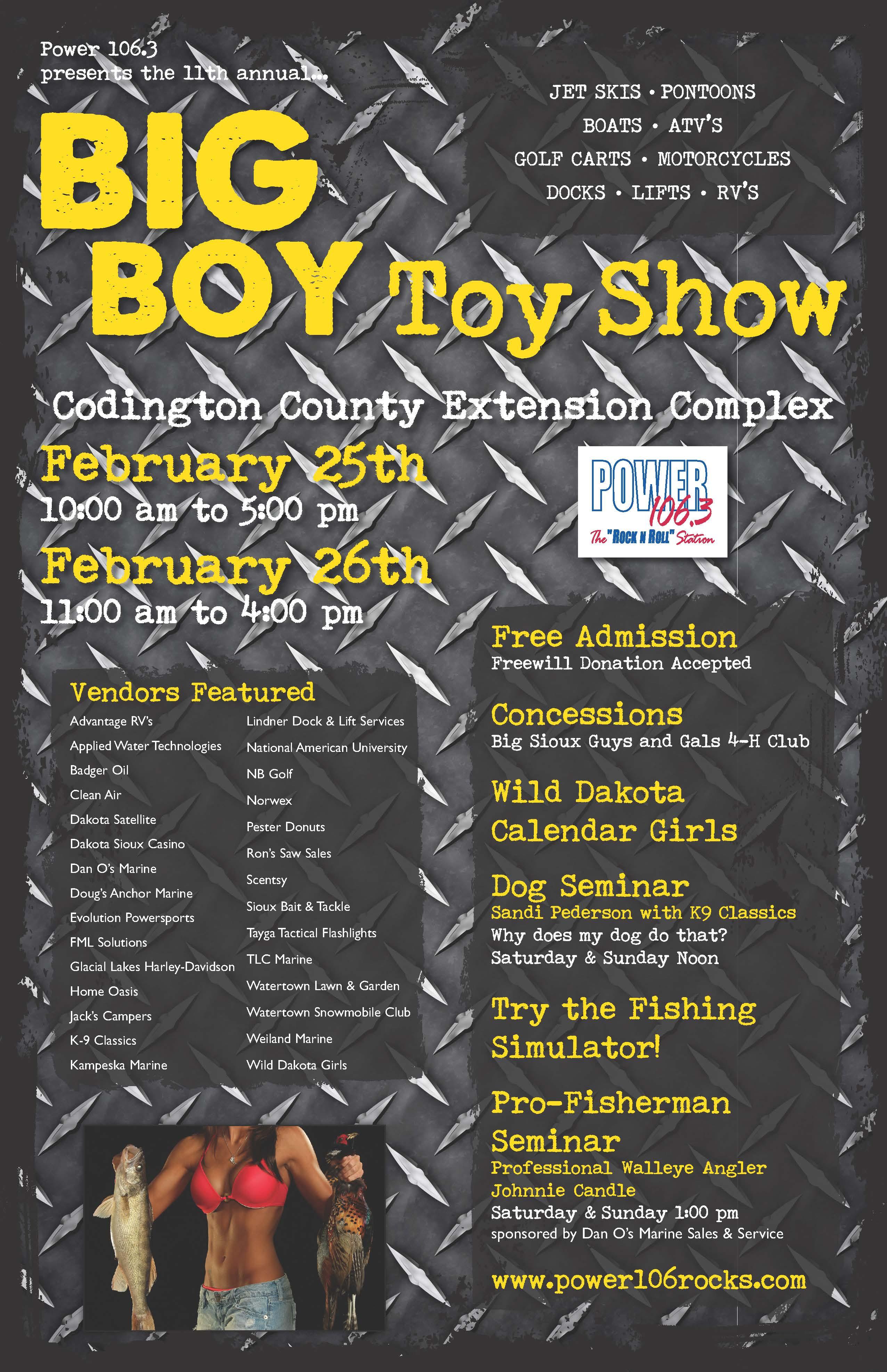 Big Boy Toy Show : Kphr fm big boy toy show